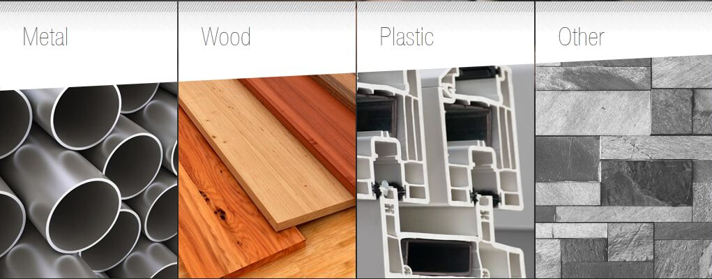 Metal-Wood-Plastic-Other